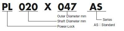 Tsubaki AS Series Power Lock