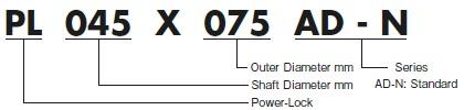 Tsubaki ADN Series Power Lock